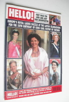 <!--1996-05-11-->Hello! magazine - Europe's Royal Ladies cover (11 May 1996 - Issue 406)