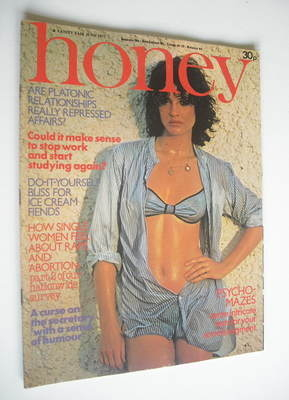 <!--1977-06-->Honey magazine - June 1977