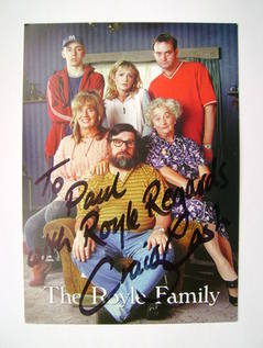 Craig Cash autograph (hand-signed cast card)