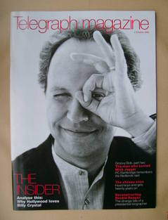 <!--1999-10-02-->Telegraph magazine - Billy Crystal cover (2 October 1999)
