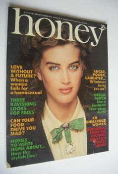 Honey magazine - September 1978