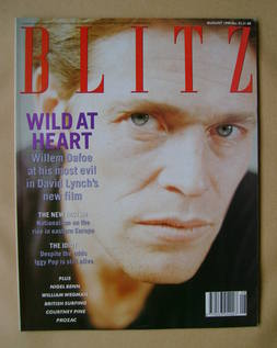 <!--1990-08-->Blitz magazine - August 1990 - Willem Dafoe cover