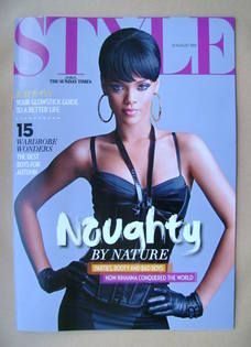 <!--2012-08-12-->Style magazine - Rihanna cover (12 August 2012)