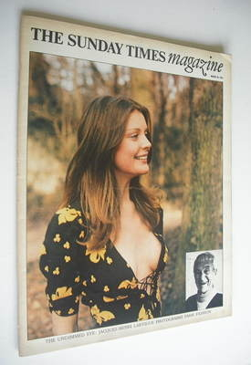 <!--1973-03-18-->The Sunday Times magazine - Paris Fashion cover (18 March