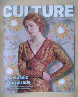<!--2012-08-12-->Culture magazine - Rebecca Hall cover (12 August 2012)