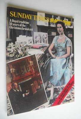 <!--1982-12-19-->The Sunday Times magazine - Queen Elizabeth II cover (19 D