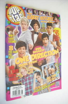 POPSTAR magazine - August 2012 - One Direction cover