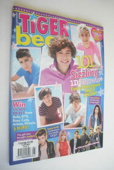 <!--2012-08-->Tiger Beat magazine - August 2012 - One Direction cover