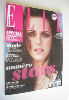 <!--2012-05-18-->French Elle magazine - 18 May 2012 - Kristen Stewart cover