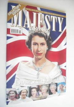 Majesty magazine - Queen Elizabeth II cover (June 2012)