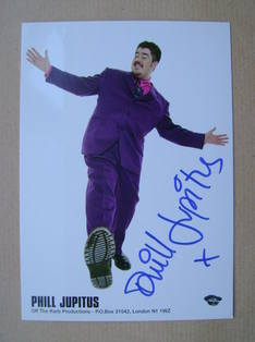 Phill Jupitus autograph