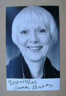 Anna Massey autographed photo