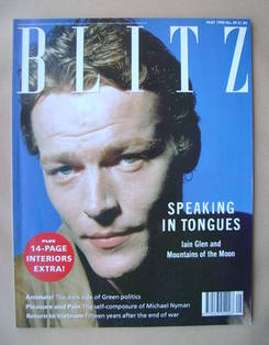 <!--1990-05-->Blitz magazine - May 1990 - Iain Glen cover