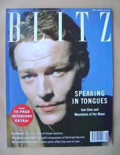 Blitz magazine - May 1990 - Iain Glen cover