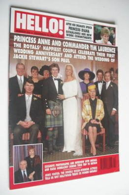 <!--1993-12-18-->Hello! magazine - Paul Stewart and Victoria Yates wedding