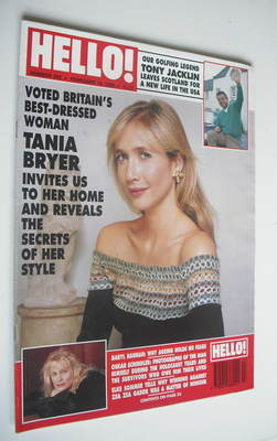 <!--1994-02-19-->Hello! magazine - Tania Bryer cover (19 February 1994 - Is