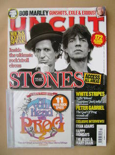 <!--2007-07-->Uncut magazine - Keith Richards and Mick Jagger cover (July 2