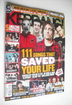 <!--2012-08-18-->Kerrang magazine - 111 Songs That Saved Your Life cover (1