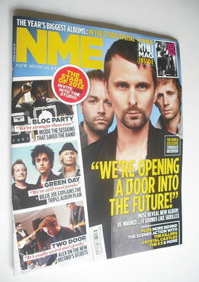 <!--2012-07-28-->NME magazine - Muse cover (28 July 2012)