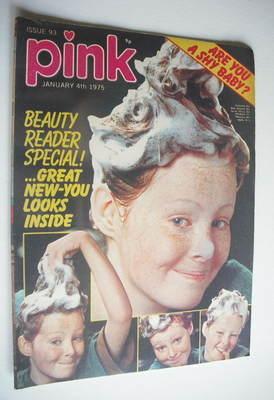 Pink magazine - 4 January 1975