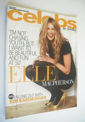 <!--2012-07-08-->Celebs magazine - Elle Macpherson cover (8 July 2012)
