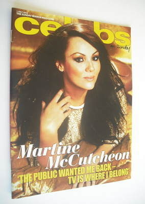 <!--2012-07-01-->Celebs magazine - Martine McCutcheon cover (1 July 2012)