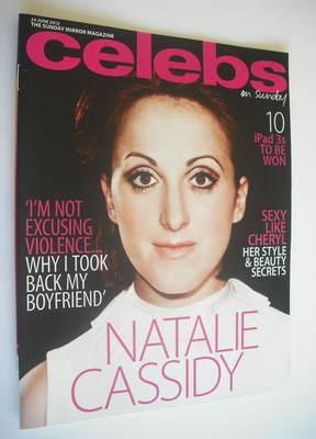 <!--2012-06-24-->Celebs magazine - Natalie Cassidy cover (24 June 2012)