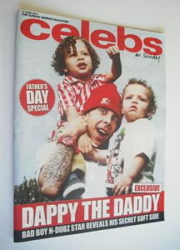 Celebs magazine - Dappy cover (17 June 2012)