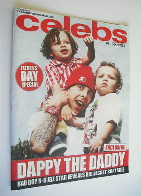 <!--2012-06-17-->Celebs magazine - Dappy cover (17 June 2012)