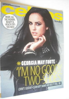 Celebs magazine - Georgia May Foote cover (5 August 2012)