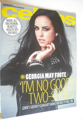 <!--2012-08-05-->Celebs magazine - Georgia May Foote cover (5 August 2012)