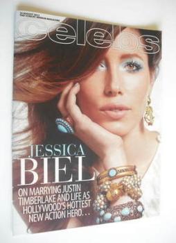 Celebs magazine - Jessica Biel cover (19 August 2012)