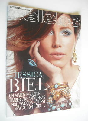 <!--2012-08-19-->Celebs magazine - Jessica Biel cover (19 August 2012)