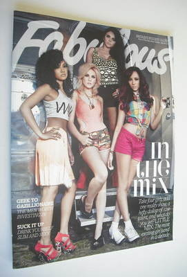 <!--2012-07-29-->Fabulous magazine - Little Mix cover (29 July 2012)