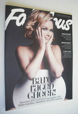 <!--2012-07-22-->Fabulous magazine - Amanda Holden cover (22 July 2012)