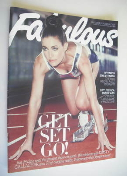 Fabulous magazine - Kirsty Gallacher cover (1 July 2012)