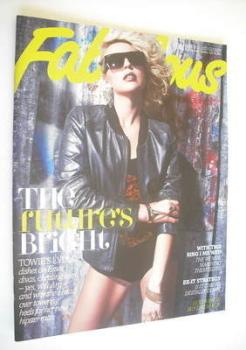 Fabulous magazine - Lydia Bright cover (24 June 2012)