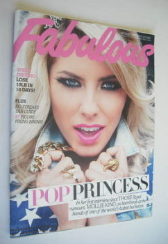Fabulous magazine - Mollie King cover (13 May 2012)