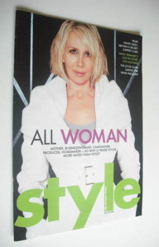 Style magazine - Trudie Styler cover (24 July 2005)