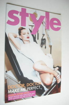 Style magazine - Doctor Doctor Make Me Perfect cover (10 July 2005)