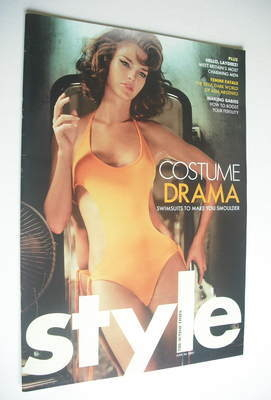 <!--2005-06-26-->Style magazine - Costume Drama cover (26 June 2005)