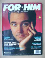 <!--1989-12-->For Him magazine - Tony Slattery cover (December 1989/January 1990)