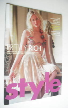 Style magazine - Olympia Scarry cover (12 June 2005)