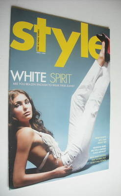 <!--2005-06-05-->Style magazine - White Spirit cover (5 June 2005)