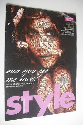 <!--2005-05-15-->Style magazine - Brittany Murphy cover (15 May 2005)