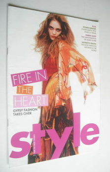 Style magazine - Fire In The Heart cover (10 April 2005)