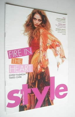 <!--2005-04-10-->Style magazine - Fire In The Heart cover (10 April 2005)