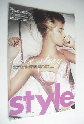 <!--2005-02-13-->Style magazine - Love Story cover (13 February 2005)