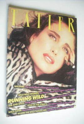 <!--1983-11-->Tatler magazine - November 1983 - Andie MacDowell cover