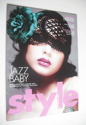 <!--2004-07-18-->Style magazine - Jazz Baby cover (18 July 2004)